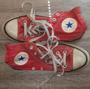 Converse All-star Used Shoes Collectable Size 7